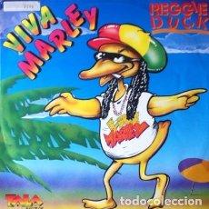 Discos de vinilo: REGGIE DUCK - VIVA MARLEY . MAXI SINGLE . 1990 TALA RECORDS . TD 004X. Lote 36118188