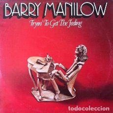 Discos de vinilo: BARRY MANILOW - TRYIN' TO GET THE FEELING . LP . 1975 ARISTA AUSTRALIA . AL.4060. Lote 36185346