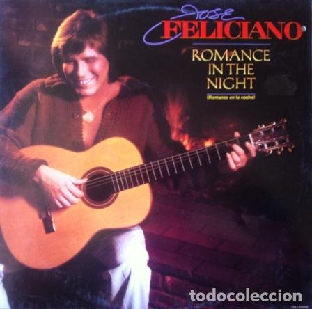 JOSE FELICIANO - ROMANCE IN THE NIGHT . LP . 1983 MOTOWN - SPLI-60066 (Música - Discos - LP Vinilo - Grupos y Solistas de latinoamérica)