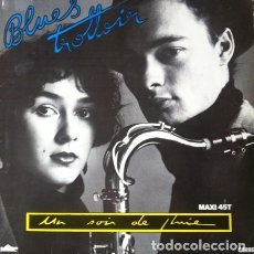 Discos de vinilo: BLUES TROTTOIR - UN SOIR DE PLUIE . MAXI SINGLE . 1987 SANNI RECORDS - CAR 8800. Lote 36246298
