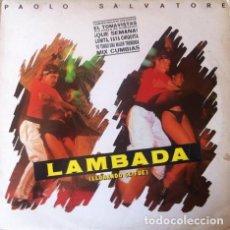 Discos de vinilo: PAOLO SALVATORE - LAMBADA ( LLORANDO SE FUE ) . LP . 1989 HISPAVOX - 066 7934541. Lote 36305353