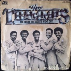 Discos de vinilo: THE TRAMMPS - THE NIGHT THE LIGHTS WENT OUT . SINGLE . 1977 ATLANTIC - 45-1644. Lote 36359513