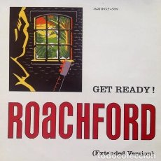 Discos de vinilo: ROACHFORD - GET READY! . MAXI SINGLE . 1991 CBS/SONY - COL 656705 6 . Lote 36693040