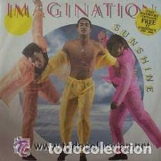 Discos de vinilo: IMAGINATION - SUNSHINE - MAXI-SINGLE UK 1986. Lote 63898455