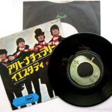 Discos de vinilo: THE BEATLES - ACT NATURALLY / YESTERDAY - SINGLE APPLE RECORDS 1970 JAPAN (EDICIÓN JAPONESA) BPY. Lote 63934495