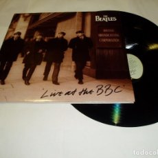 Discos de vinilo: THE BEATLES - LIVE AT THE BBC DOBLE LP (ORIGINAL INGLÉS 1994). BUEN ESTADO EMI RECORDS. Lote 63936139
