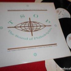 Discos de vinilo: TSOP THE SOUND OF PHILADELPHIA 2LP 1988 EDICION INGLESA ENGLAND UK MFSB+RAWLS+THE O'JAYS+STYLISTICS. Lote 63937103