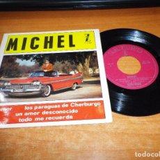 Discos de vinilo: MICHEL LEGRAND LOS PARAGUAS DE CHERBOURG / EL AMOR / TODO ME RECUERDA EP VINILO 1964 ESPAÑA 4 TEMAS. Lote 63966151