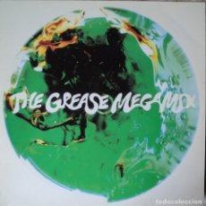Discos de vinilo: GREASE - MEGAMIX - EDICIÓN DE 1990 DE ESPAÑA - MAXI-SINGLE. Lote 63971547