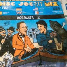 Discos de vinilo: DISC JOCKEY MIX TRIPLE LP VOLUMEN 2.PRECINTADO. Lote 193069113