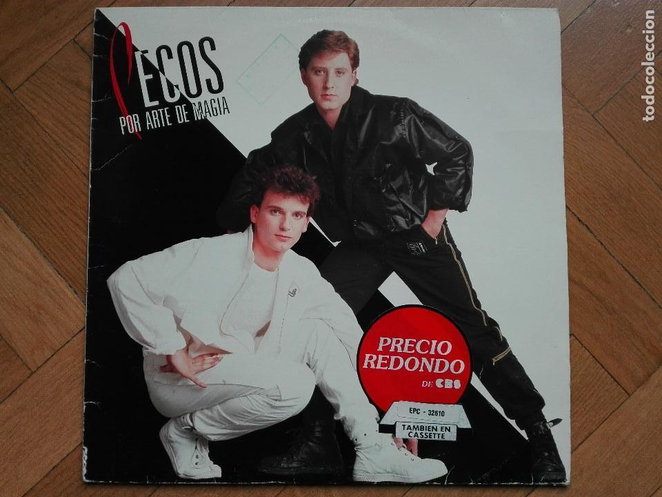 DISCO VINILO LP LOS PECOS POR ARTE DE MAGIA 1984 (Música - Discos - LP Vinilo - Grupos Españoles de los 70 y 80)