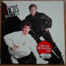 Discos de vinilo: DISCO VINILO LP LOS PECOS POR ARTE DE MAGIA 1984. Lote 94203400