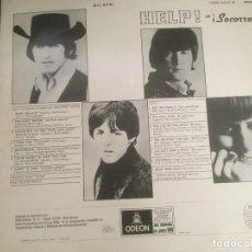 Discos de vinilo: DISCO DE VINILO BEATLES (HELP) AÑO 1965 CON PORTADISCOS PARA 12 DISCOS DE LA MISMA EPOCA. Lote 64024259