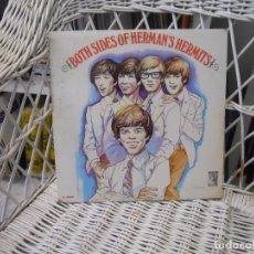 Discos de vinilo: HERMAN'S HERMITS– BOTH SIDES OF HERMAN'S HERMITS.LP ORIGINAL USA 1966.SELLO MGM . Lote 64027263
