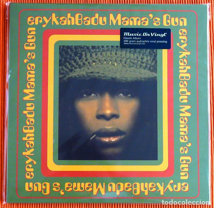ERYKAH BADU - MAMA'S GUN 2LP 180G AUDIÓFILO MUSIC ON VINYL PRECINTADO (Música - Discos - LP Vinilo - Jazz, Jazz-Rock, Blues y R&B)