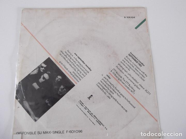 Discos de vinilo: FRANKIE GOES TO HOLLYWOOD - RELAX - Foto 2 - 61759240
