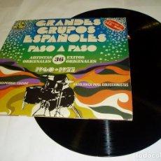 Discos de vinilo: GRANDES GRUPOS ESPAÑOLES 1960-1977,DOBLE LP, 1978. Lote 64039451