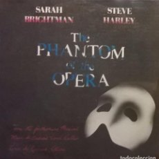 Discos de vinilo: ANDREW LLOYD WEBBER, THE PHANTOM OF THE OPERA, POLYDOR.-883 702-7. Lote 64048375