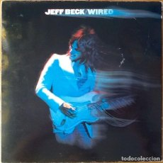 Discos de vinilo: JEFF BECK : WIRED + FLASH [NDL 1988] LPX2. Lote 64053743