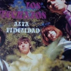 Discos de vinilo: LOS FLECHAZOS ALTA FIDELIDAD-ORIG. SPAIN MOD REVIVAL ELEFANT LP 1994 CON INSERTO. Lote 64056671