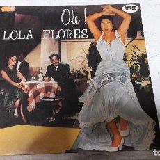 Discos de vinilo: LOLA FLORES - OLE SEECO SCLP 9095 MUY BUEN ESTADO. Lote 64058987