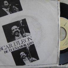 Discos de vinilo: OSCAR D'LEON -DE TI ENAMORADO -SINGLE PROMO 1980. Lote 64077823
