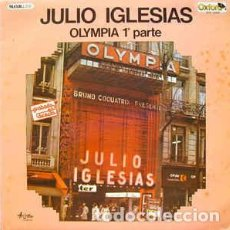 Discos de vinilo: JULIO IGLESIAS EN EL OLYMPIA (1° PARTE) - LP ITALY 1979. Lote 64083051