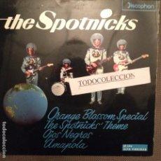 Discos de vinilo: THE SPOTNICKS : ORANGE BLOSSOM SPECIAL, THE SPOTNICKS THEME, OJOS NEGROS, AMAPOLA EP DISCOPHON. Lote 64085939