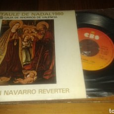 Discos de vinilo: RETAULE DE NADAL1980, ORFEON NAVARRO REVERTE:EL JUBILATE+2 (SG.7