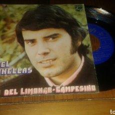 Discos de vinilo: MIGUEL CABANELLAS:CAMPO DEL LIMONAR/CAMPESINO (SG.1972.PHILIPS). Lote 64129154