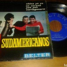 Discos de vinilo: LOS 3 SUDAMERICANOS : CARTAGENA+3 (EP.7