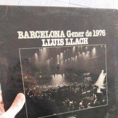 Discos de vinilo: LP LLUIS LLACH. BARCELONA GENER 1976. Lote 64130495