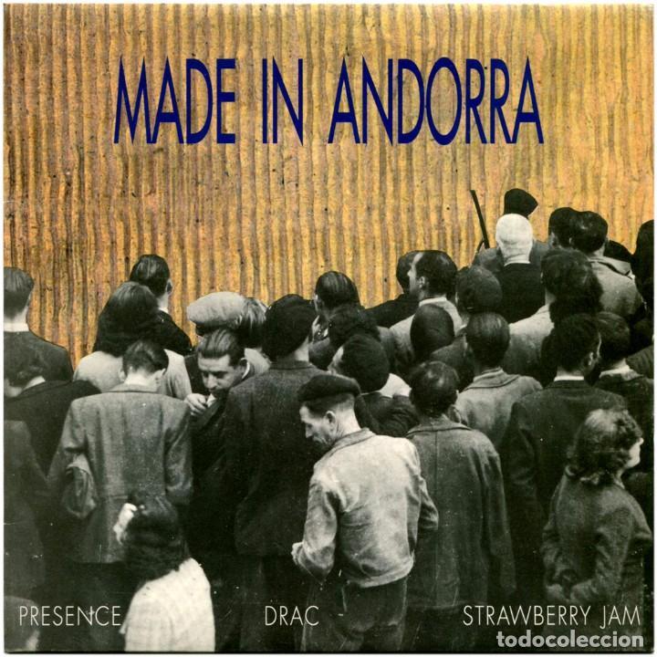 PRESENCE, DRAC, STRAWBERRY JAM - MADE IN ANDORRA - EP PROMO SPAIN 1994 - SALSETA DISCOS S-31049 (Música - Discos de Vinilo - EPs - Pop - Rock Internacional de los 90 a la actualidad)