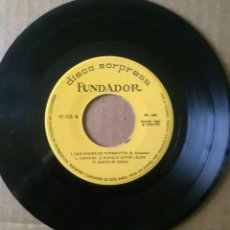 Discos de vinilo: DISCO FUNDADOR 10.122 LAS CHICAS DE FORMENTOR.AUNQUE ESTES LEJOS.INCENDIO EN RIO.ALBA GRIS (1967). Lote 64133851