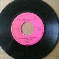 Discos de vinilo: DISCO FUNDADOR 10.243. RUMBAS DEL MAESTRO PERET. (1972) SIEMPRE. TRACATRA. LO MATO. PLEITOS TENGAS. Lote 76838698