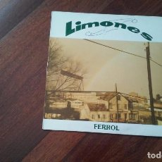 Discos de vinilo: LIMONES-FERROL.MAXI.3 VERSIONES,1 EN GALEGO. Lote 64140927