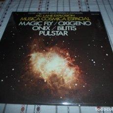 Discos de vinilo: LP MUSICA COSMICA ESPACIAL / MAGIC FLY /OXIGENO/ONIX /BILITIS/PULSTAR... HISPAVOX. Lote 110956007