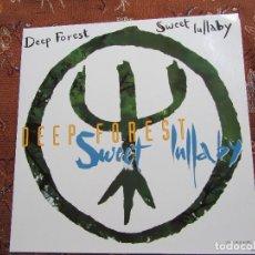 Discos de vinilo: DEEP FOREST- MAXI-SINGLE DE VINILO- TITULO SWEET LULLABY- CON 6 TEMAS- ORIGINAL DEL 93- NUEVO. Lote 64145647
