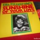 Discos de vinilo: ELLA FITZGERALD 'S SUNSHINE OF YOUR LOVE LP 1974 BASF EDICION ESPAÑOLA SPAIN VINILO NUEVO. Lote 64155803