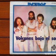Discos de vinilo: MESSAGE - VOLCANES BAJO EL SOL . SINGLE . 1976 TELEFUNKEN . Lote 36851104