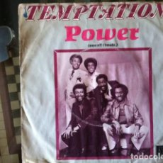 Discos de vinilo: TEMPTATIONS - POWER . SINGLE . 1980 MOTOWN HOLLAND . Lote 38160061