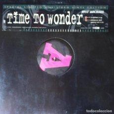 Discos de vinilo: JUST MICHAEL - TIME TO WONDER . MAXI SINGLE . 1994 CONTROL GERMANY - CON004114-0 . Lote 38262147
