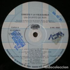 Discos de vinilo: ERNESTO Y LA VIEJA BANDA - UN CHUPITO DE RON . LP . 1990 DIAL RECORDS - A1ML 0082. Lote 38592506