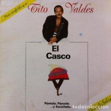 Discos de vinilo: TITO VALDES - EL CASCO . MAXI SINGLE . 1990 F&P RECORDS . F-10 15. Lote 38833167