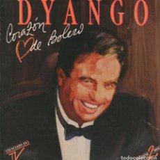 Discos de vinilo: DYANGO - CORAZON DE BOLERO / DOS GARDENIAS LP DE 1990 RF-898, BUEN ESTADO. Lote 64232047