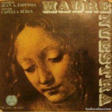 Discos de vinilo: JUAN ANTONIO ESPINOSA - MADRE NUESTRA - DOBLE EP CARPETA ABIERTA - DISCOTECA PAX. Lote 64259711