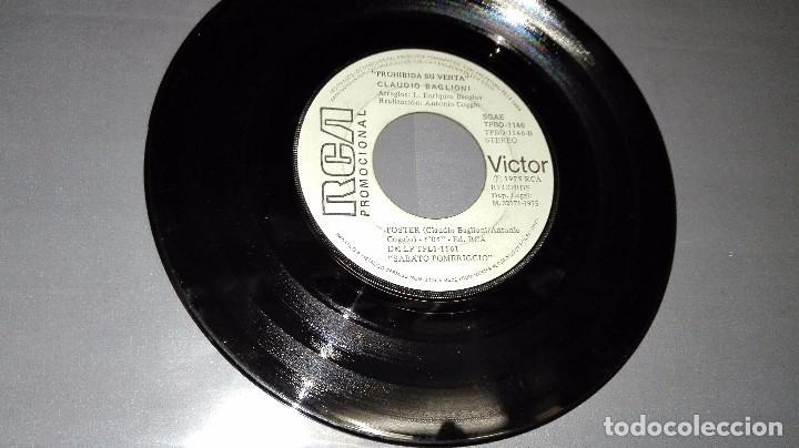1018- CLAUDIO BAGLIONI SABATO POMERIGGIO PROMOCIONAL - DISC VIN 7-PORTADA ---- / DISCO VG + (Música - Discos - Singles Vinilo - Otros estilos)