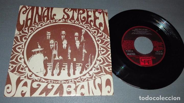 1018- CANAL STREET- JAZZ BAND - DISC VIN 7-PORTADA VG ++ / DISCO VG ++ (Música - Discos - Singles Vinilo - Otros estilos)