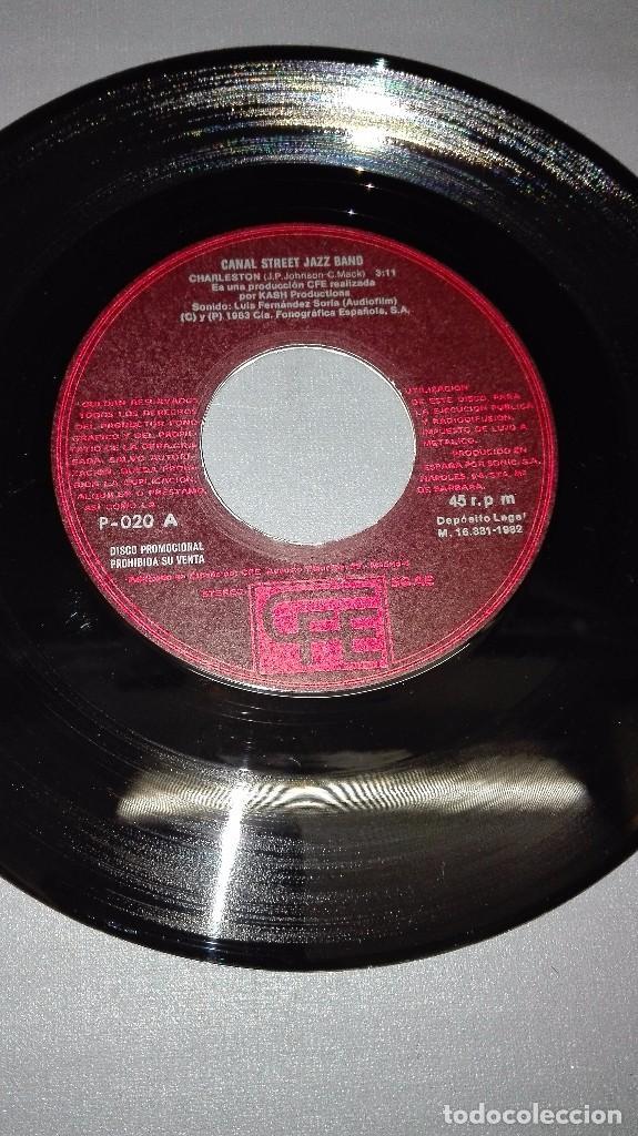 Discos de vinilo: 1018- CANAL STREET- JAZZ BAND - DISC VIN 7-PORTADA VG ++ / DISCO VG ++ - Foto 2 - 64311007