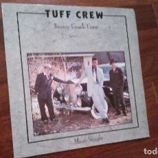 Discos de vinilo: TUFF CREW-JIMMY CRACK CORN,ROBBIN HOODS.MAXI GERMANY. Lote 64321339